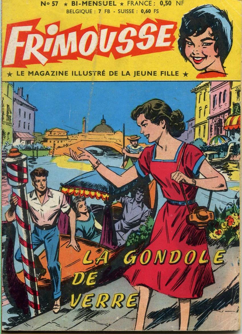 Couverture de Frimousse et Frimousse-Capucine -57- La gondole de verre