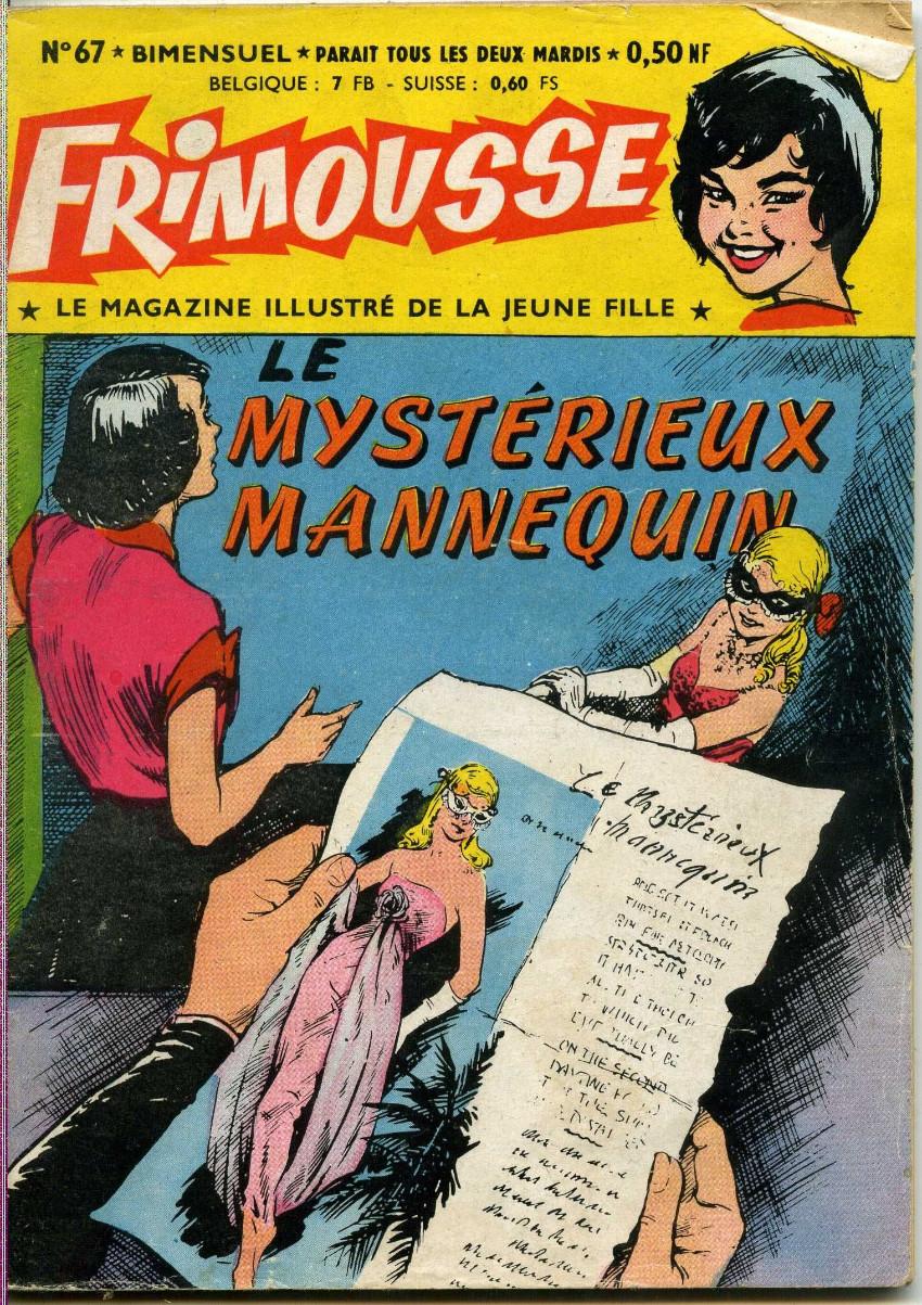 Couverture de Frimousse et Frimousse-Capucine -67- Le mystérieux mannequin