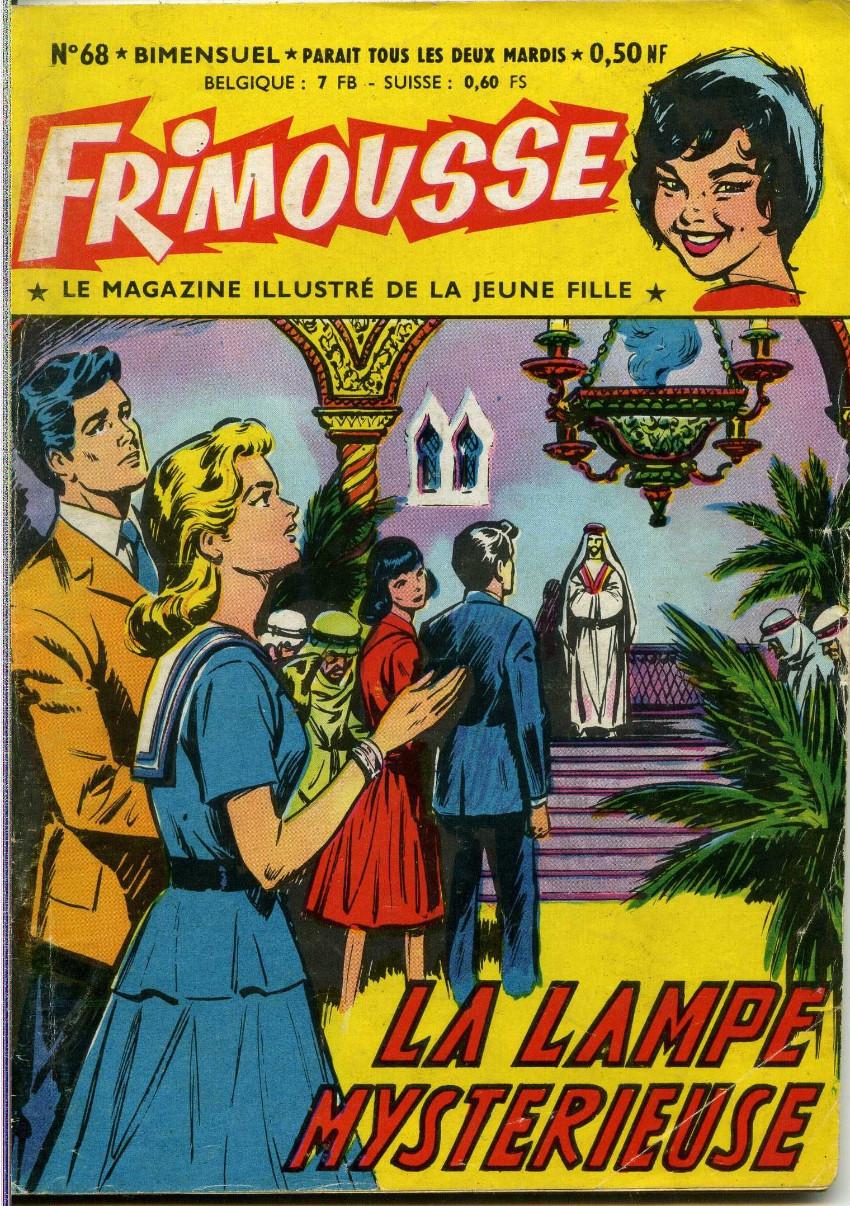 Couverture de Frimousse et Frimousse-Capucine -68- La lampe mystérieuse