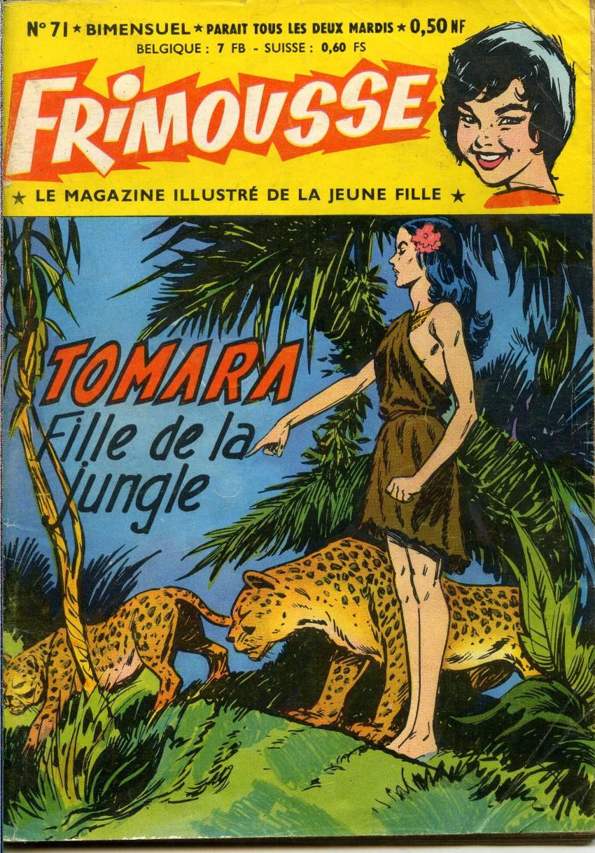 Couverture de Frimousse et Frimousse-Capucine -71- Tomara fille de la jungle