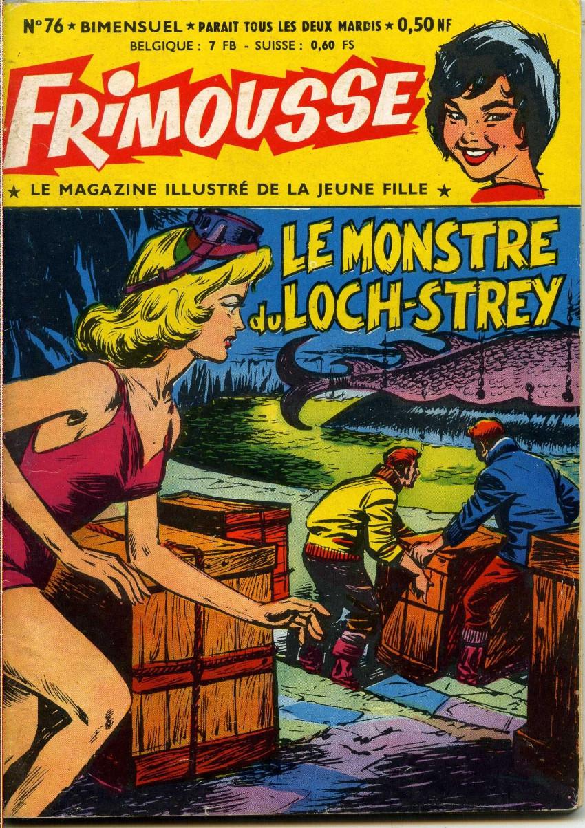 Couverture de Frimousse et Frimousse-Capucine -76- Le monstre du Loch-Strey