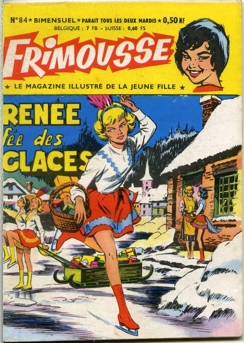Couverture de Frimousse et Frimousse-Capucine -84- Renée fée des glaces