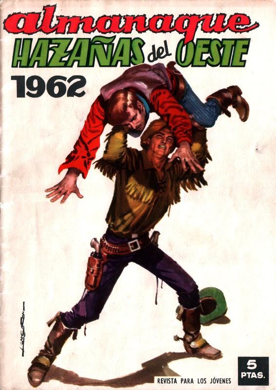 Couverture de Hazañas del Oeste -EXTRA- Almanaque 1962