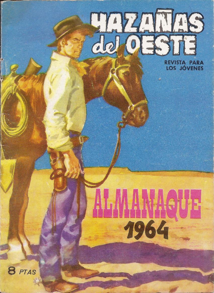 Couverture de Hazañas del Oeste -EXTRA- Almanaque 1964