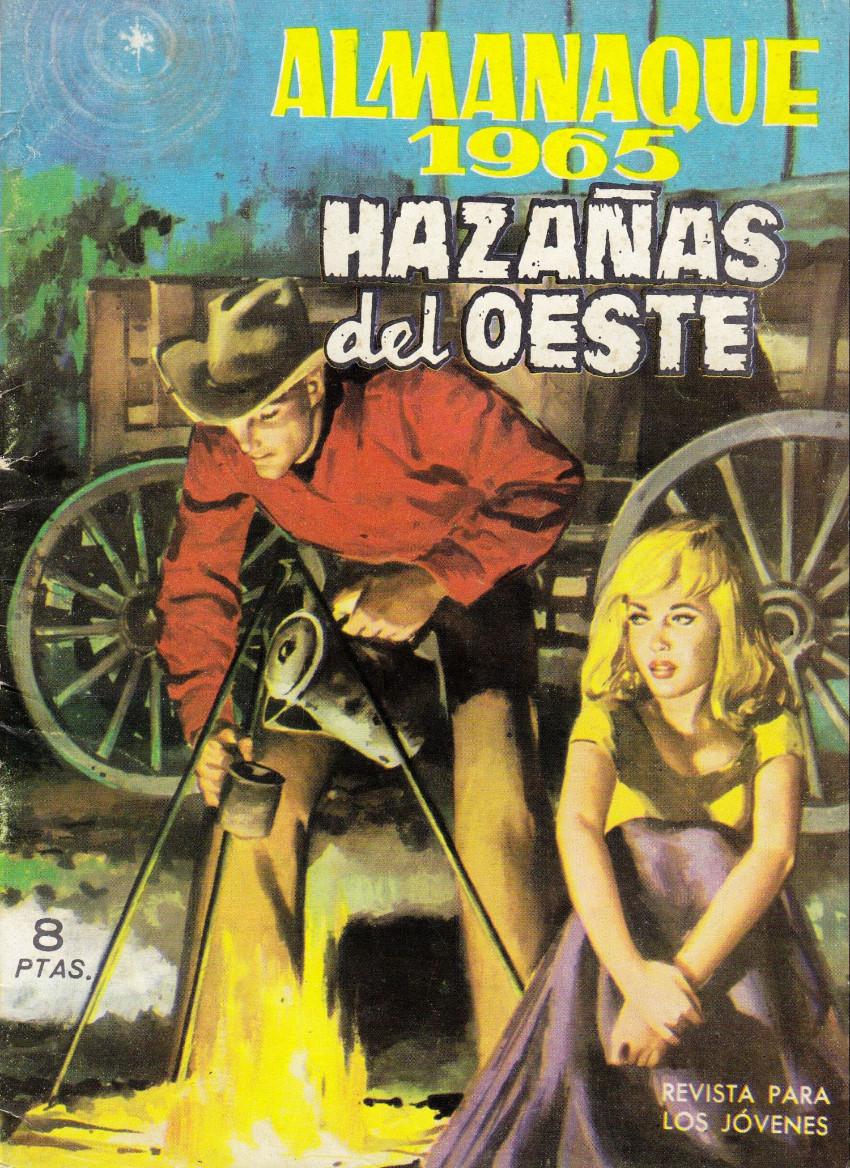 Couverture de Hazañas del Oeste -EXTRA- Almanaque 1965