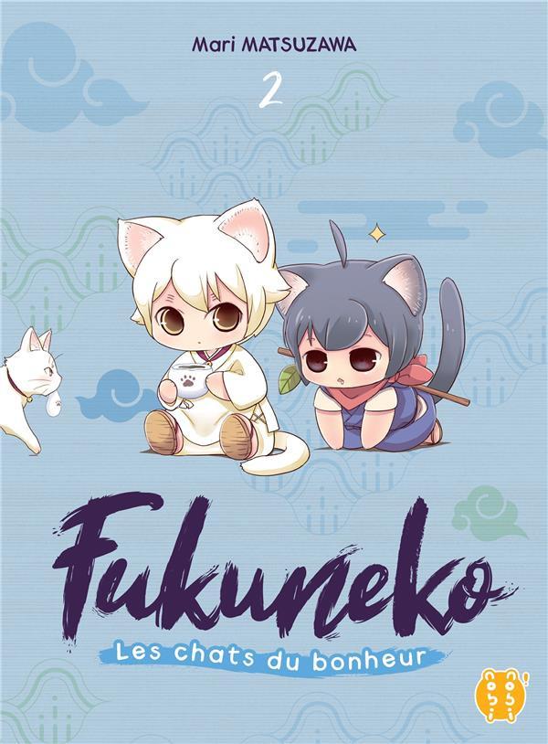 Couverture de Fukuneko, les chats du bonheur -2- Tome 2
