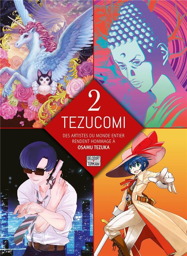 Couverture de Tezucomi -2- Tome 2
