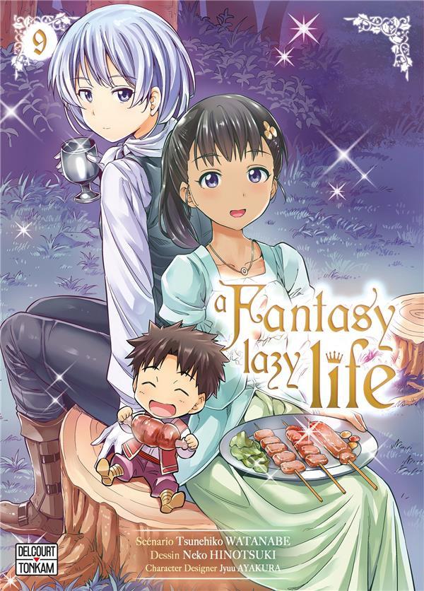 Couverture de A Fantasy lazy life - Tome 9