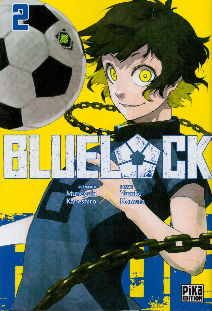 Couverture de Blue lock -2- Tome 2