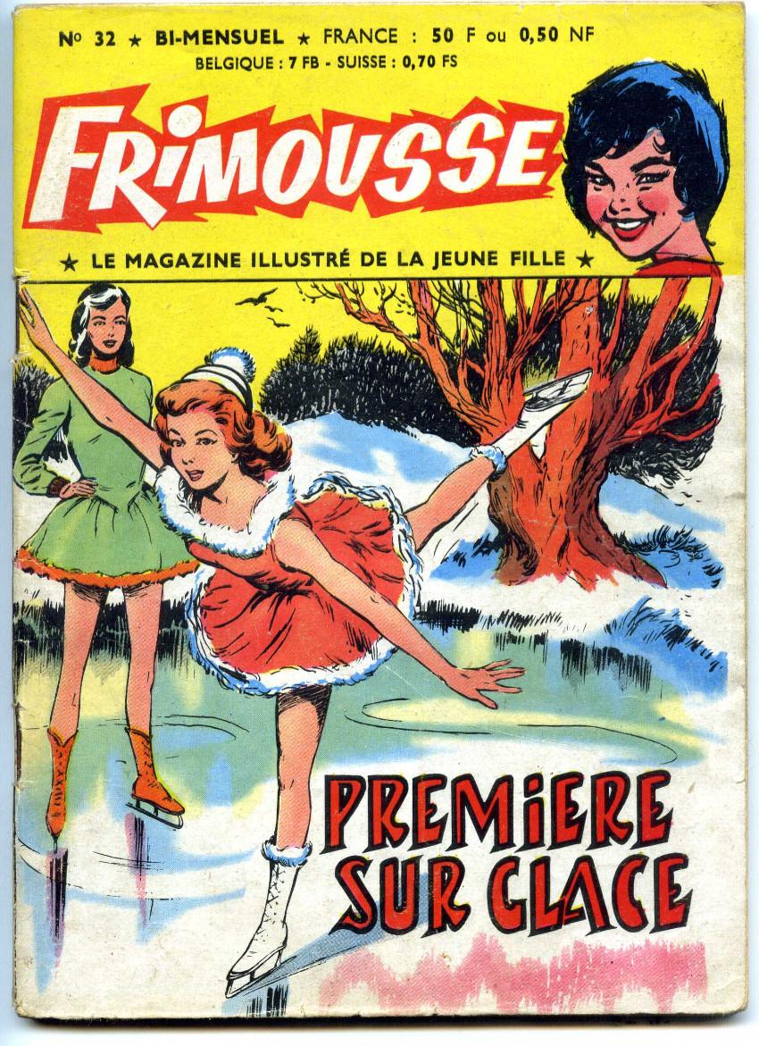 Couverture de Frimousse -32- Première sur glace