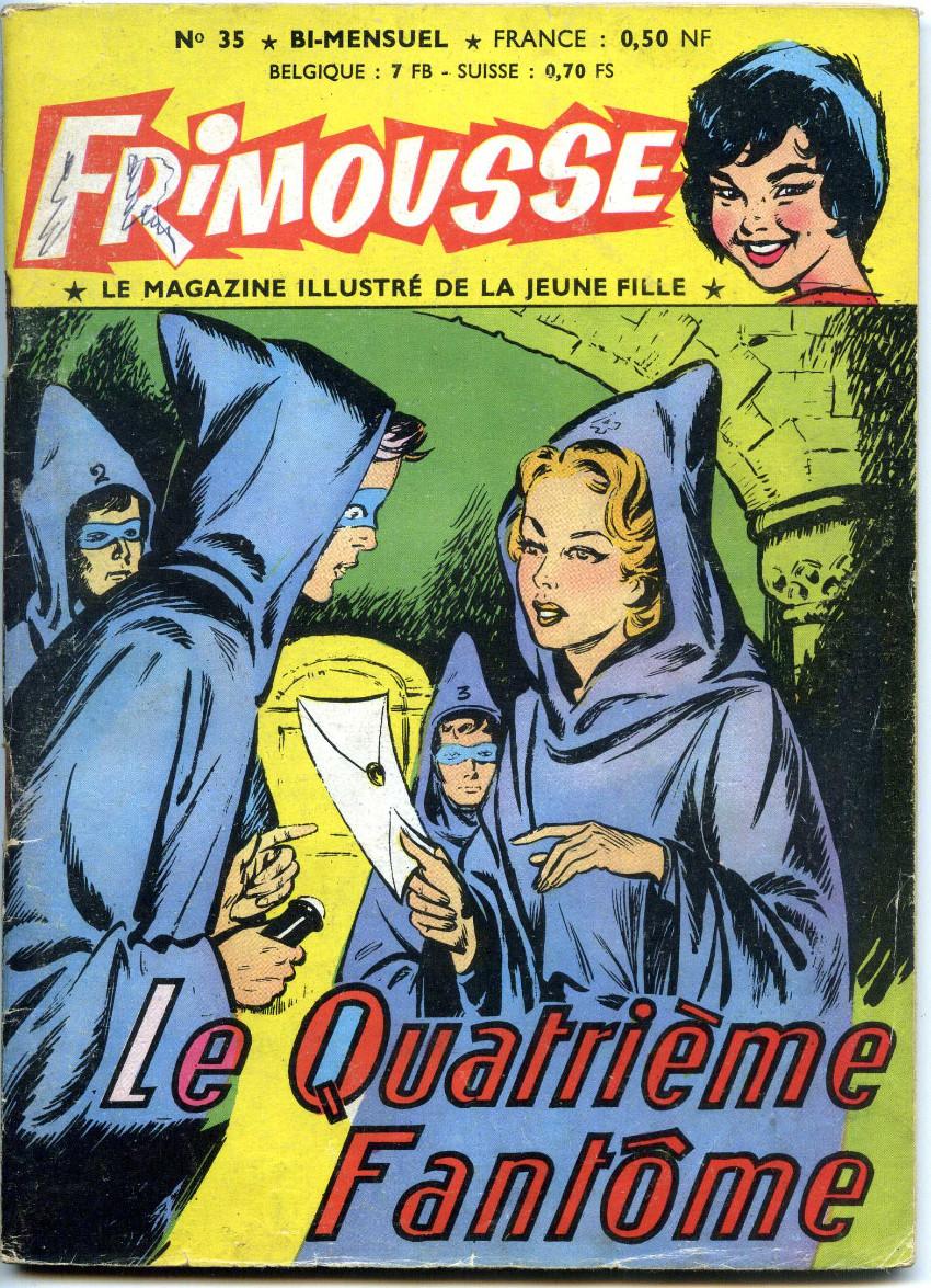 Couverture de Frimousse et Frimousse-Capucine -35- Le quatrième fantôme