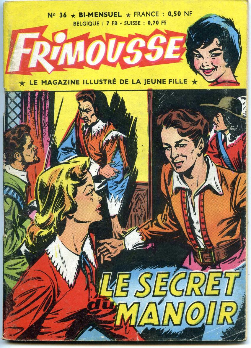Couverture de Frimousse -36- Le secret du manoir