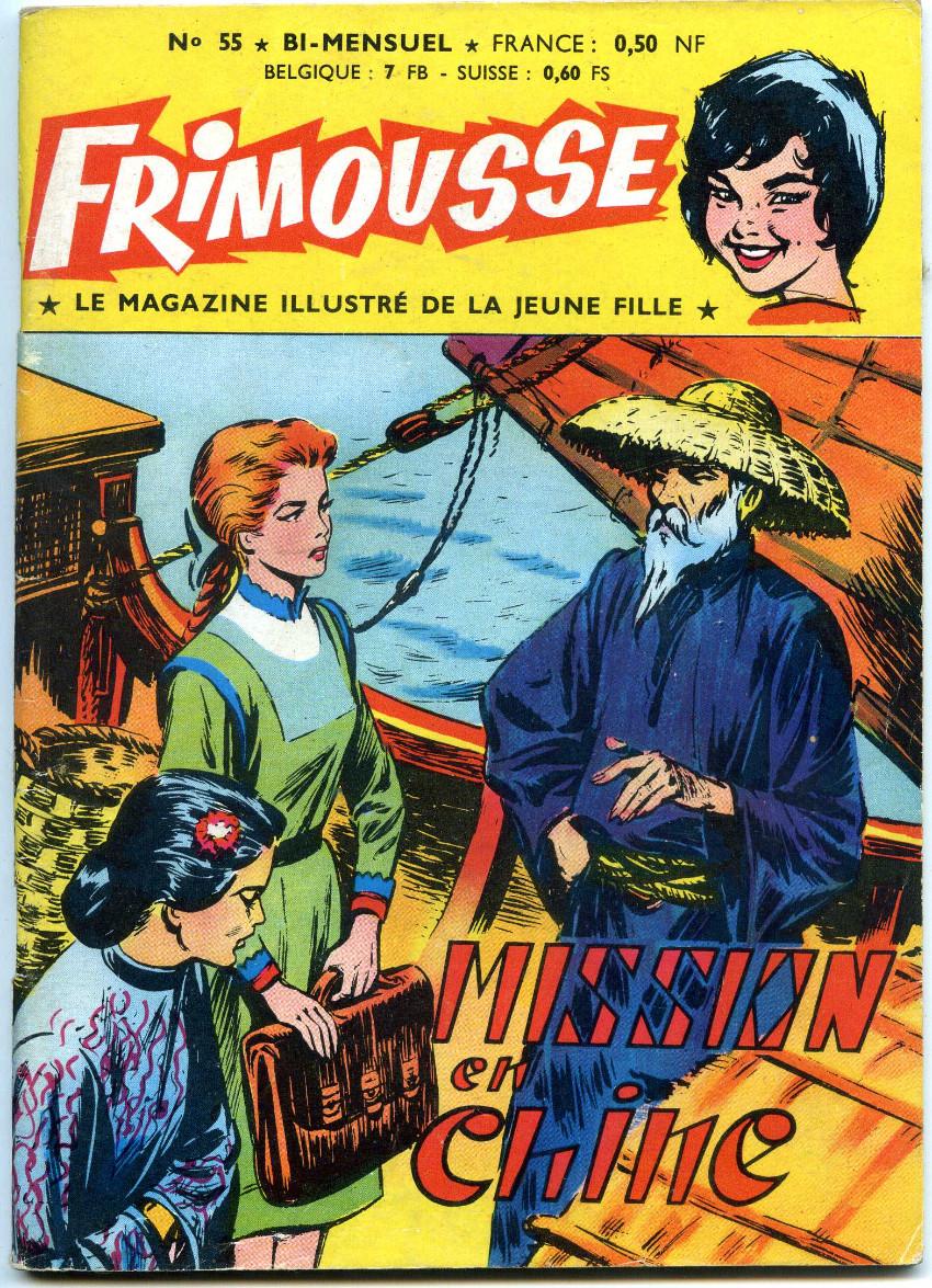 Couverture de Frimousse -55- Mission en Chine