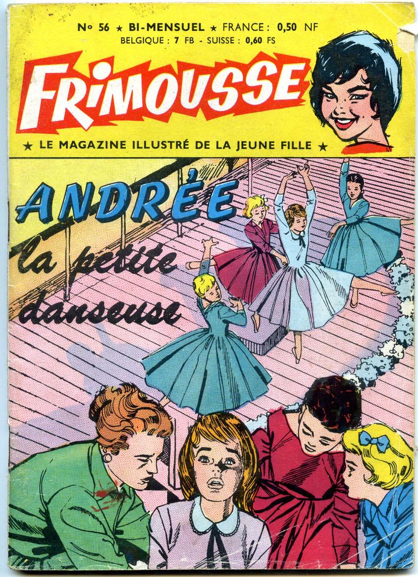Couverture de Frimousse et Frimousse-Capucine -56- Andrée la petite danseuse