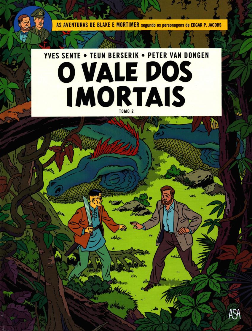 Couverture de Blake e Mortimer (Aventuras de) (en portugais) -26- O vale dos imortais - Tomo 2