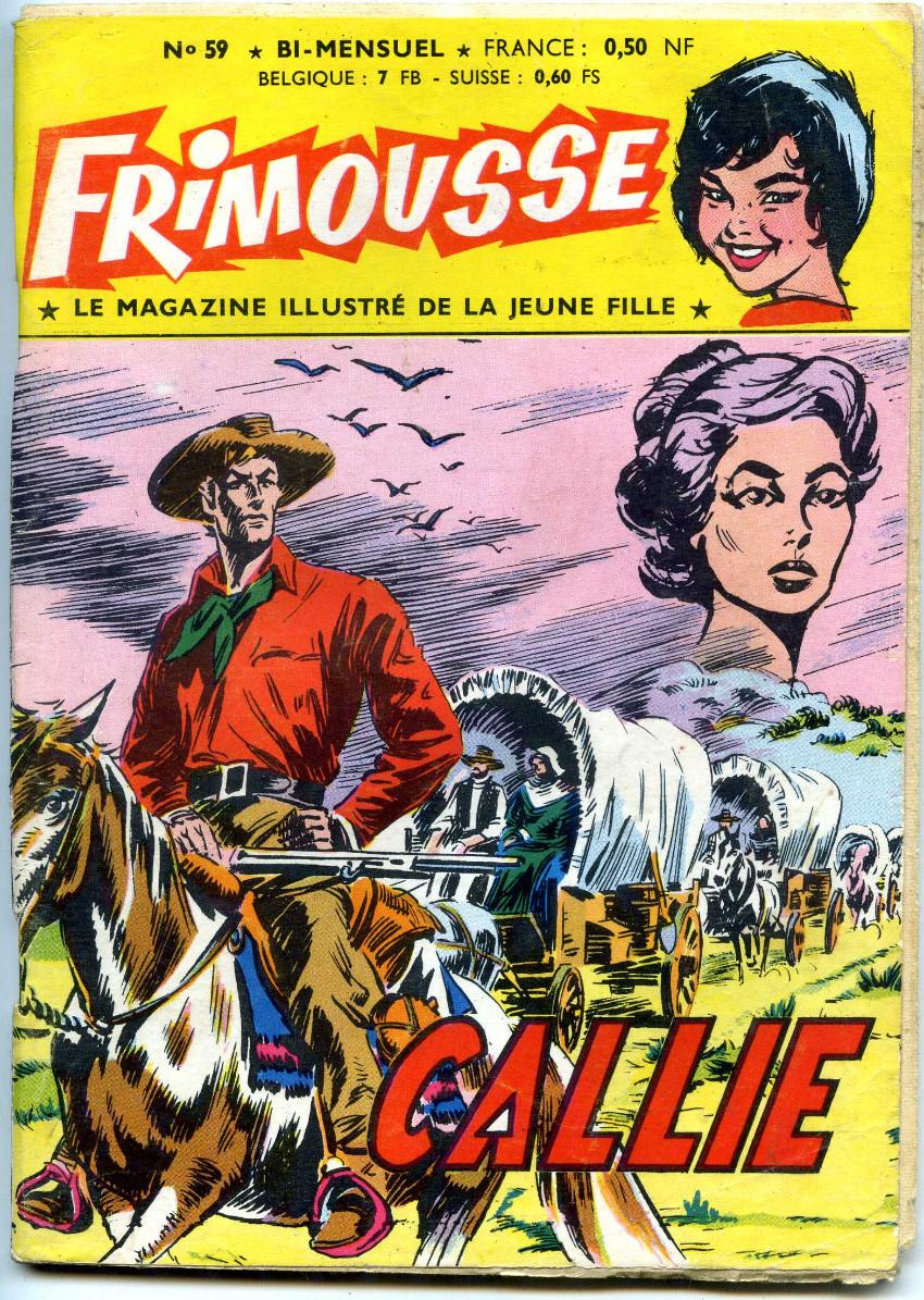 Couverture de Frimousse -59- Callie