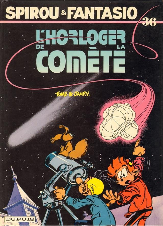 Couverture de Spirou et Fantasio -36- L'horloger de la comète