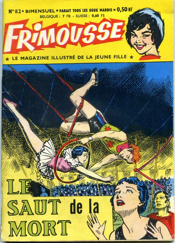 Couverture de Frimousse -82- Le saut de la mort