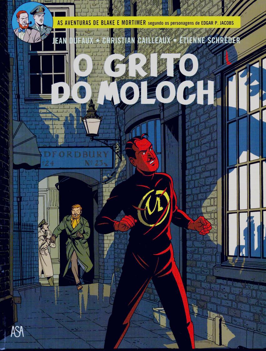 Couverture de Blake e Mortimer (Aventuras de) (en portugais) -27- O grito do Moloch