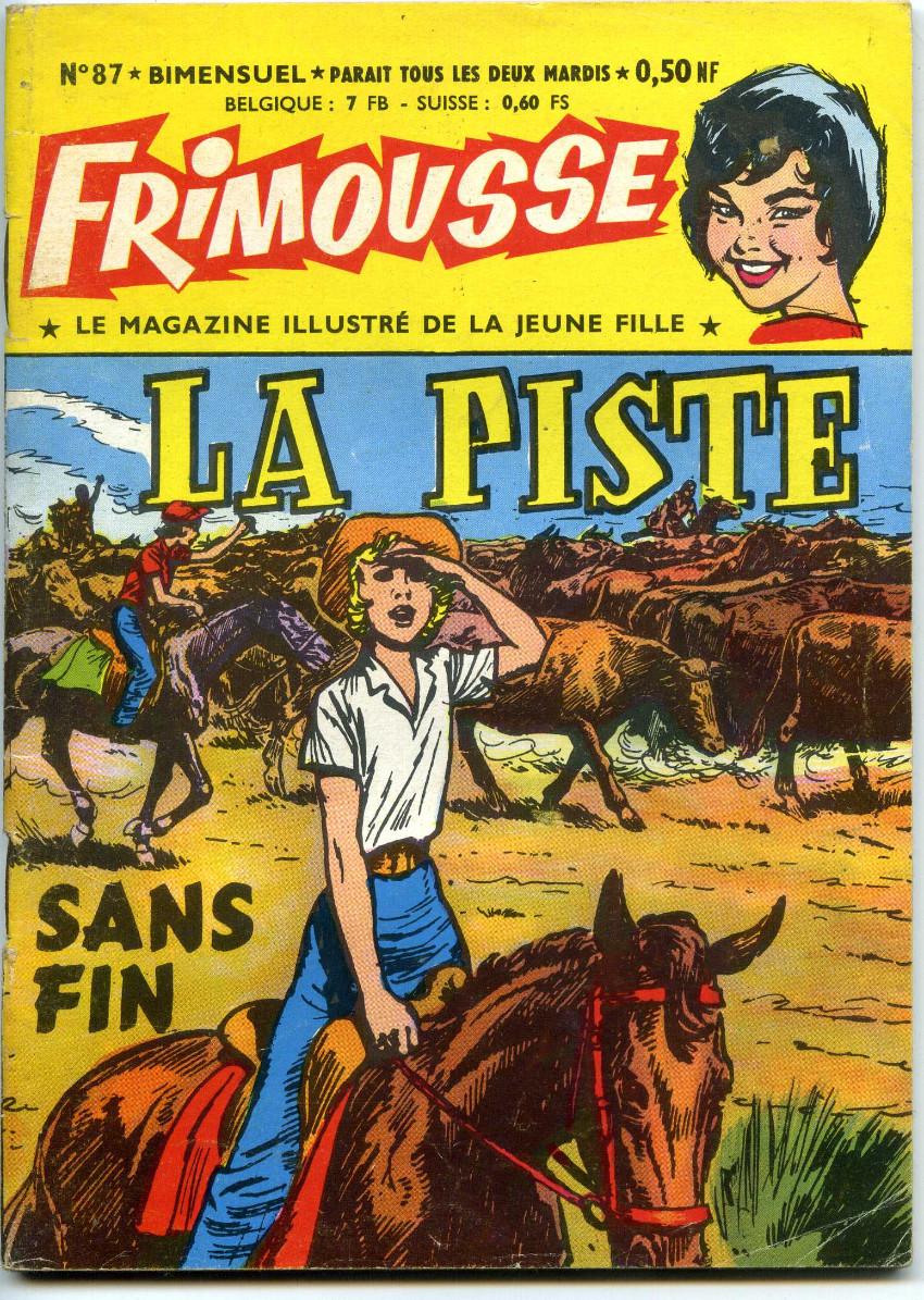 Couverture de Frimousse et Frimousse-Capucine -87- La piste sans fin