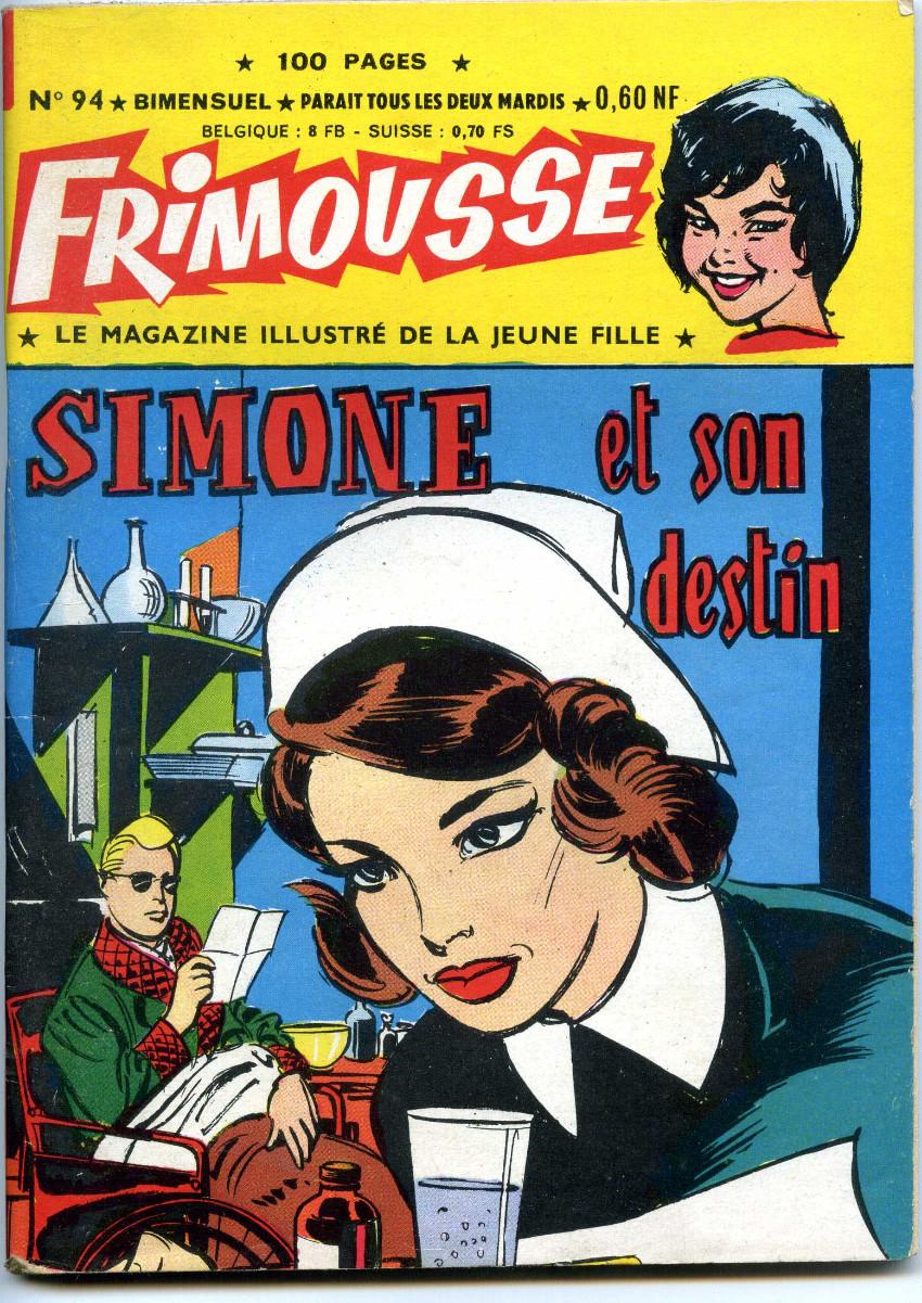 Couverture de Frimousse -94- Simone et son destin