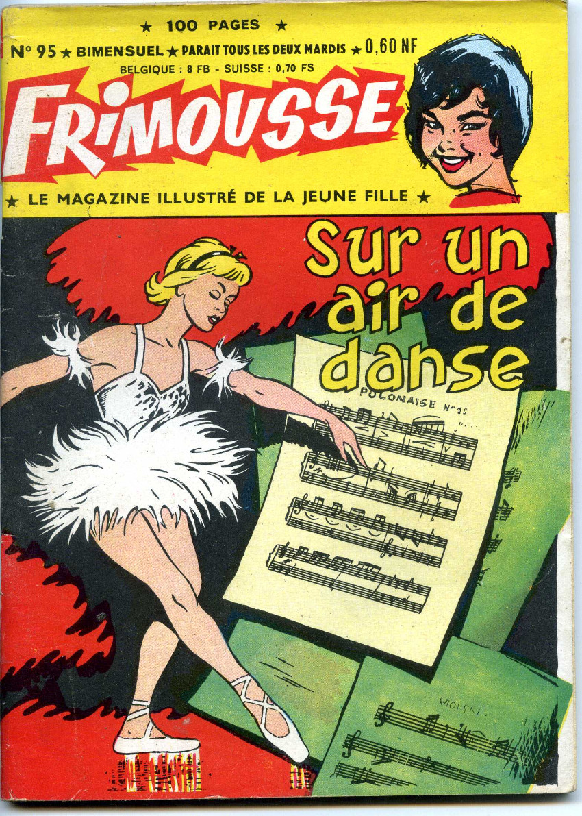 Couverture de Frimousse -95- Sur un air de danse