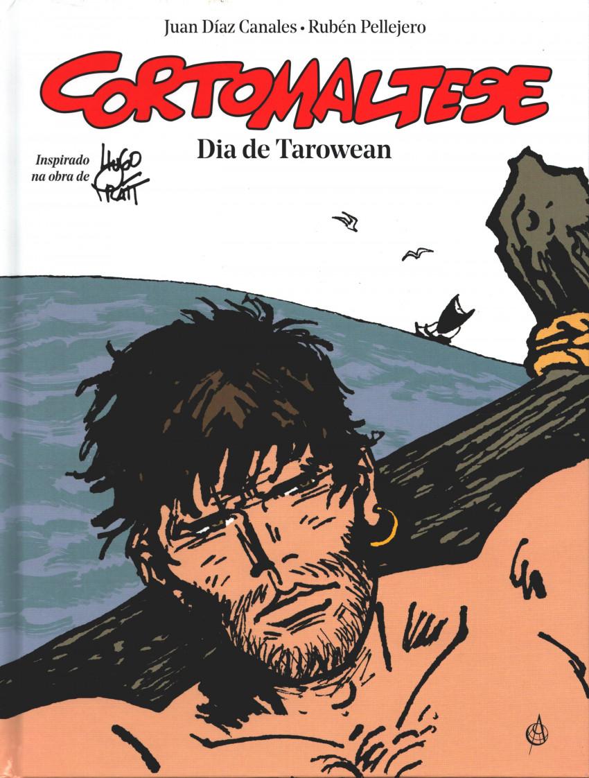 Couverture de Corto Maltese (diverses éditions en portugais) -15- Dia de Tarowean