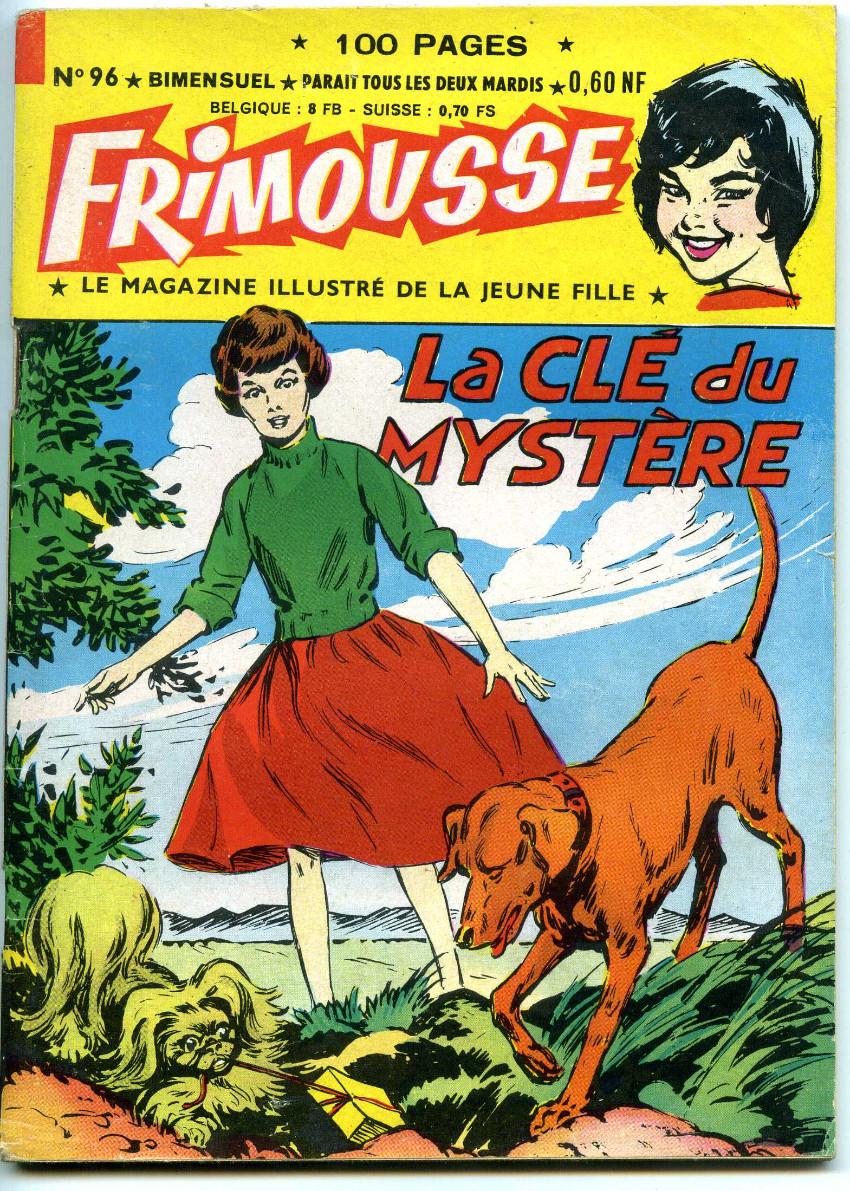 Couverture de Frimousse -96- La clé du mystère
