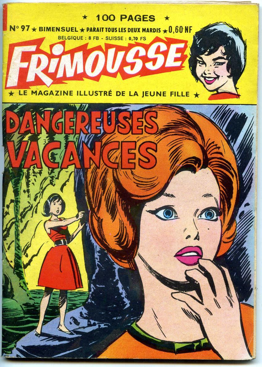 Couverture de Frimousse et Frimousse-Capucine -97- Dangereuses vacances
