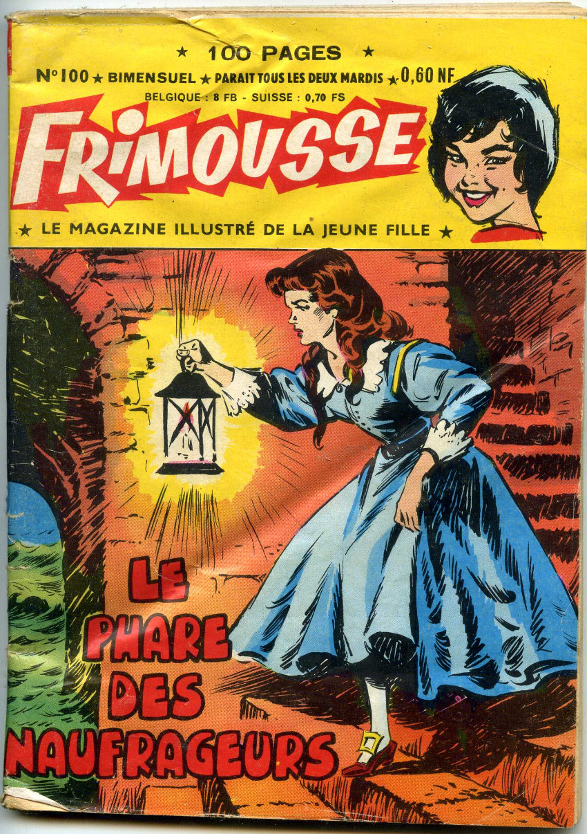 Couverture de Frimousse -100- Le phare des naufrageurs