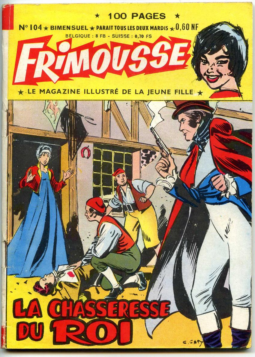 Couverture de Frimousse et Frimousse-Capucine -104- La chasseresse du roi