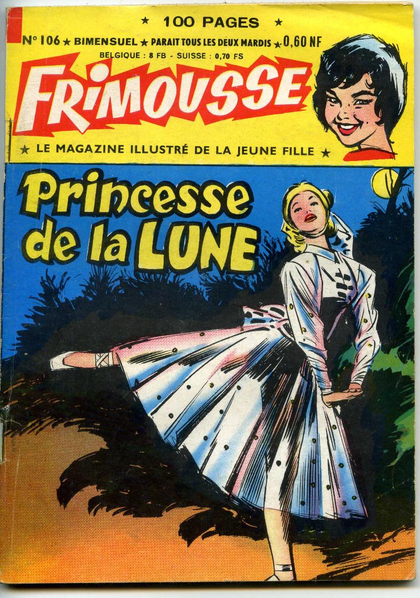 Couverture de Frimousse -106- Princesse de la lune