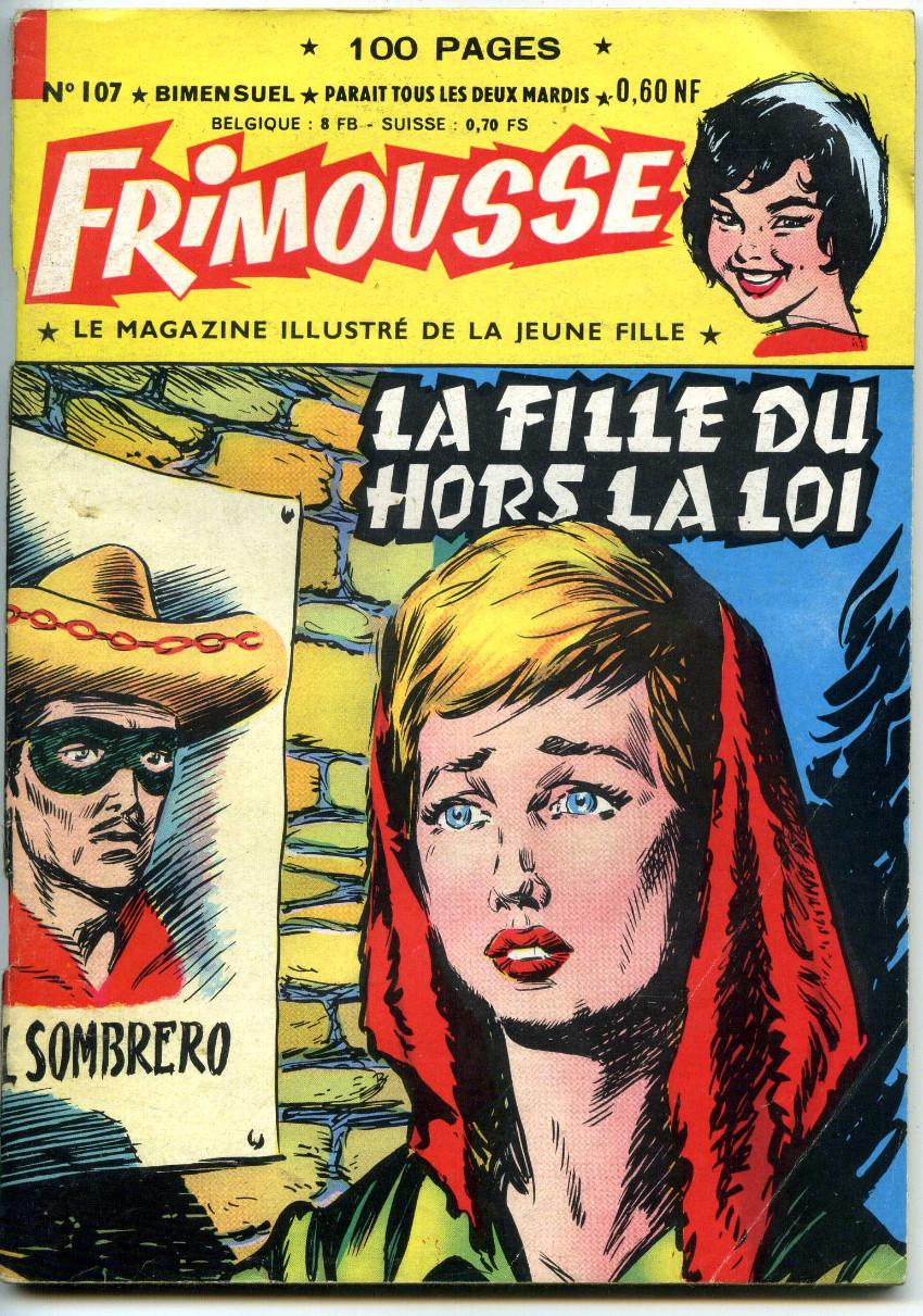 Couverture de Frimousse -107- La fille du hors la loi