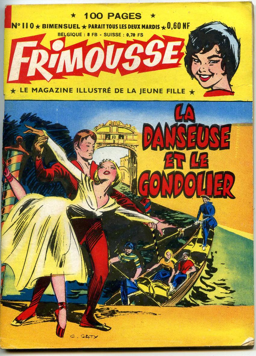 Couverture de Frimousse -110- La danseuse et le gondolier