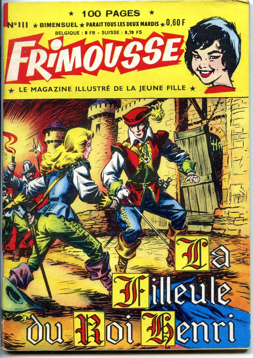 Couverture de Frimousse -111- La filleule du roi Henri