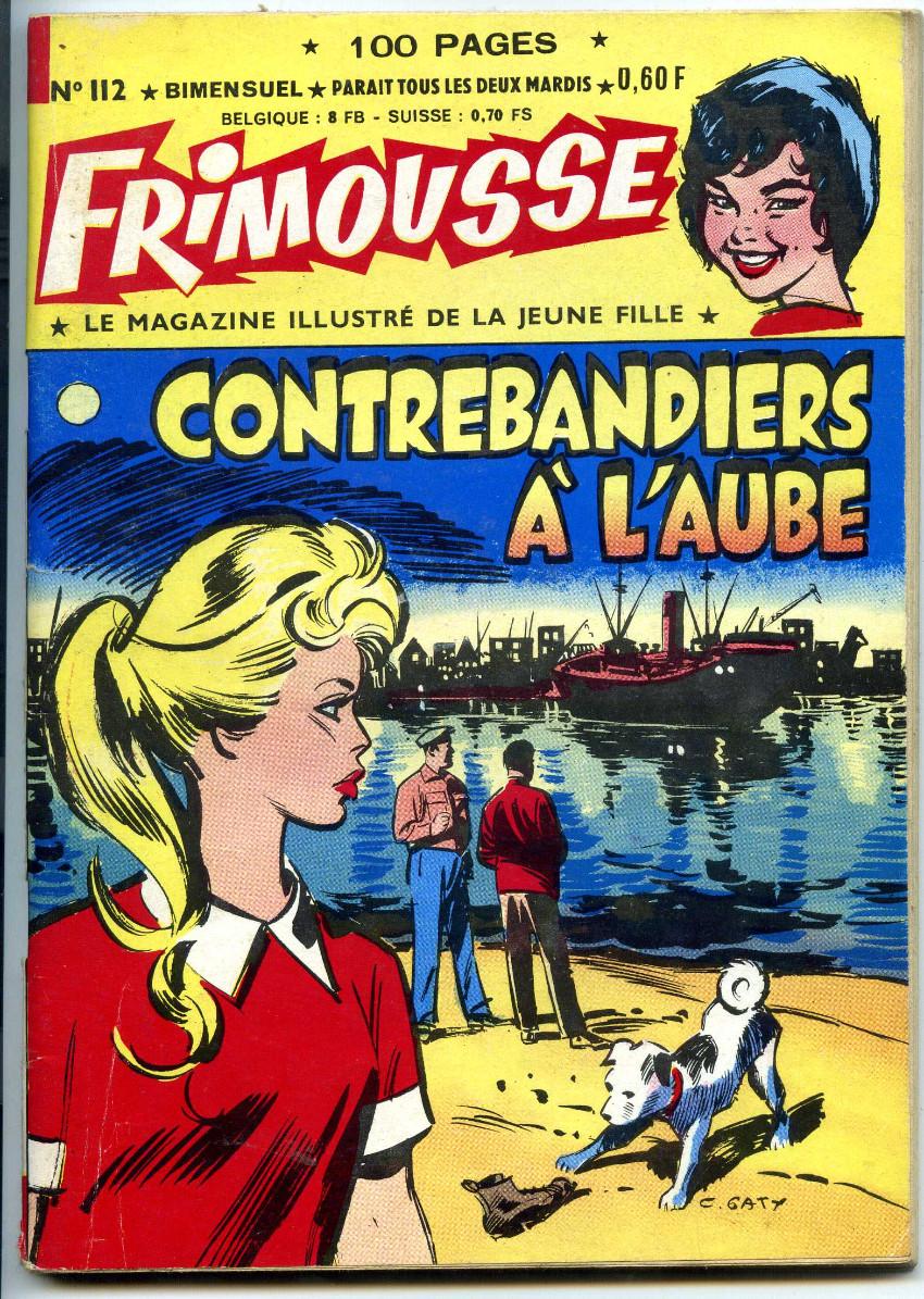 Couverture de Frimousse et Frimousse-Capucine -112- Contrebandiers à l'aube