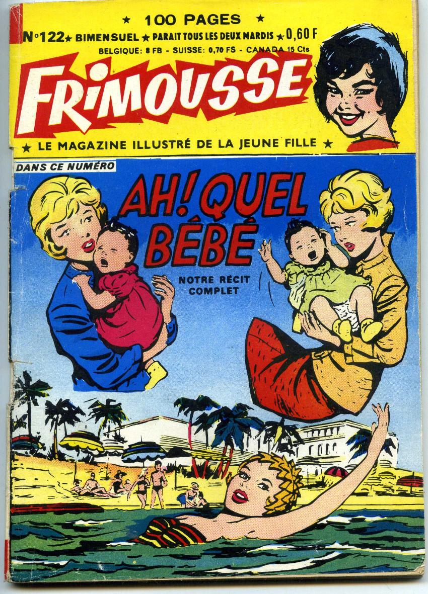 Couverture de Frimousse et Frimousse-Capucine -122- Ah ! quel bébé