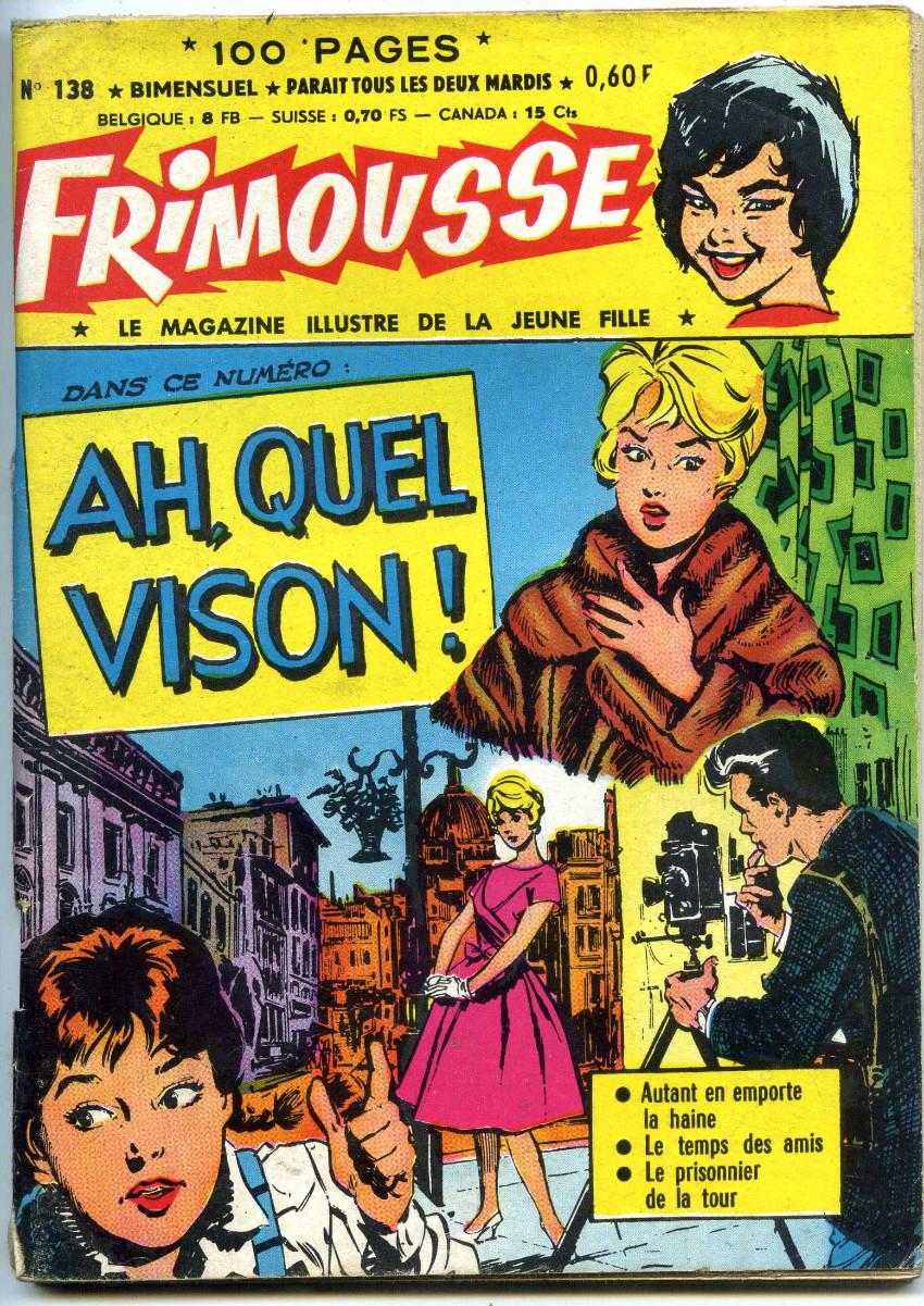 Couverture de Frimousse et Frimousse-Capucine -138- Ah, quel vison !