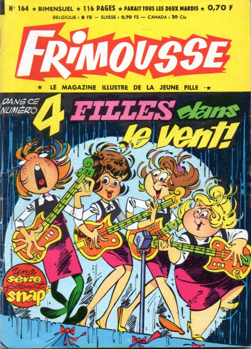 Couverture de Frimousse et Frimousse-Capucine -164- 4 filles dans le vent !