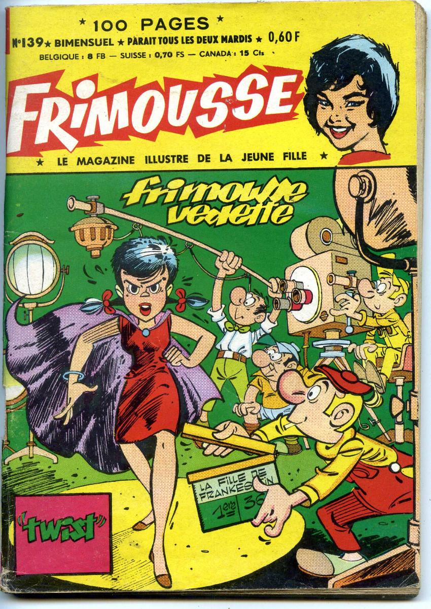 Couverture de Frimousse et Frimousse-Capucine -139- Frimousse vedette