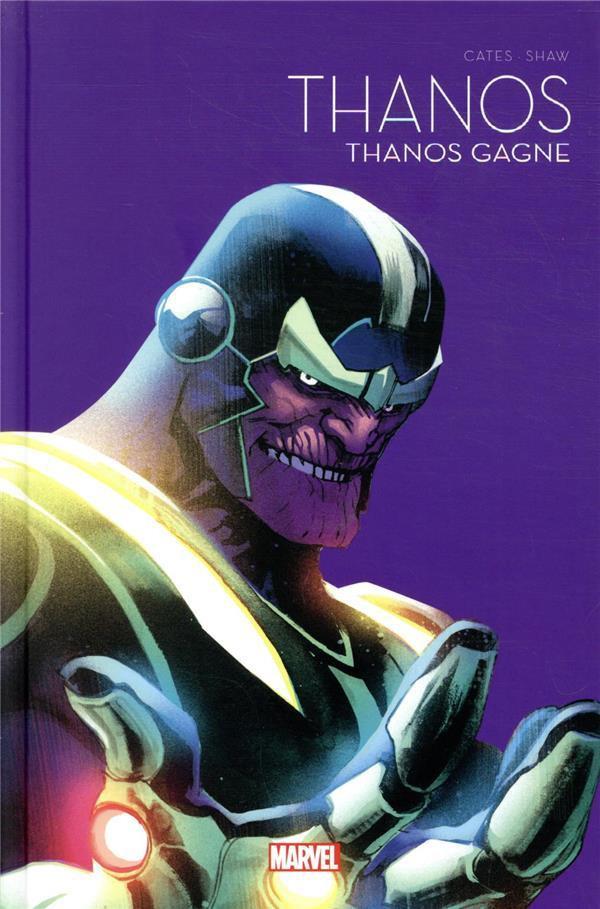 Couverture de Le printemps des comics (Panini 2021) -6- Thanos - Thanos gagne