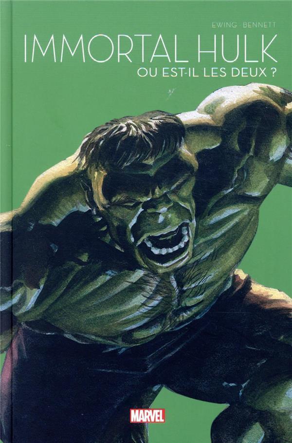 Couverture de Le printemps des comics (Panini 2021) -7- Immortal Hulk - Ou est-il les deux ?