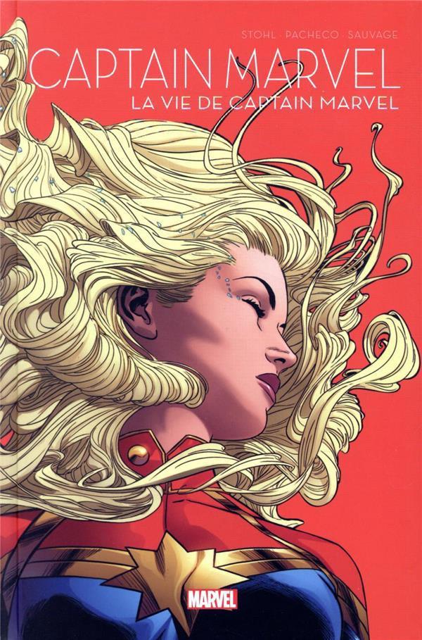 Couverture de Le printemps des comics (Panini 2021) -8- Captain Marvel - La vie de Captain Marvel