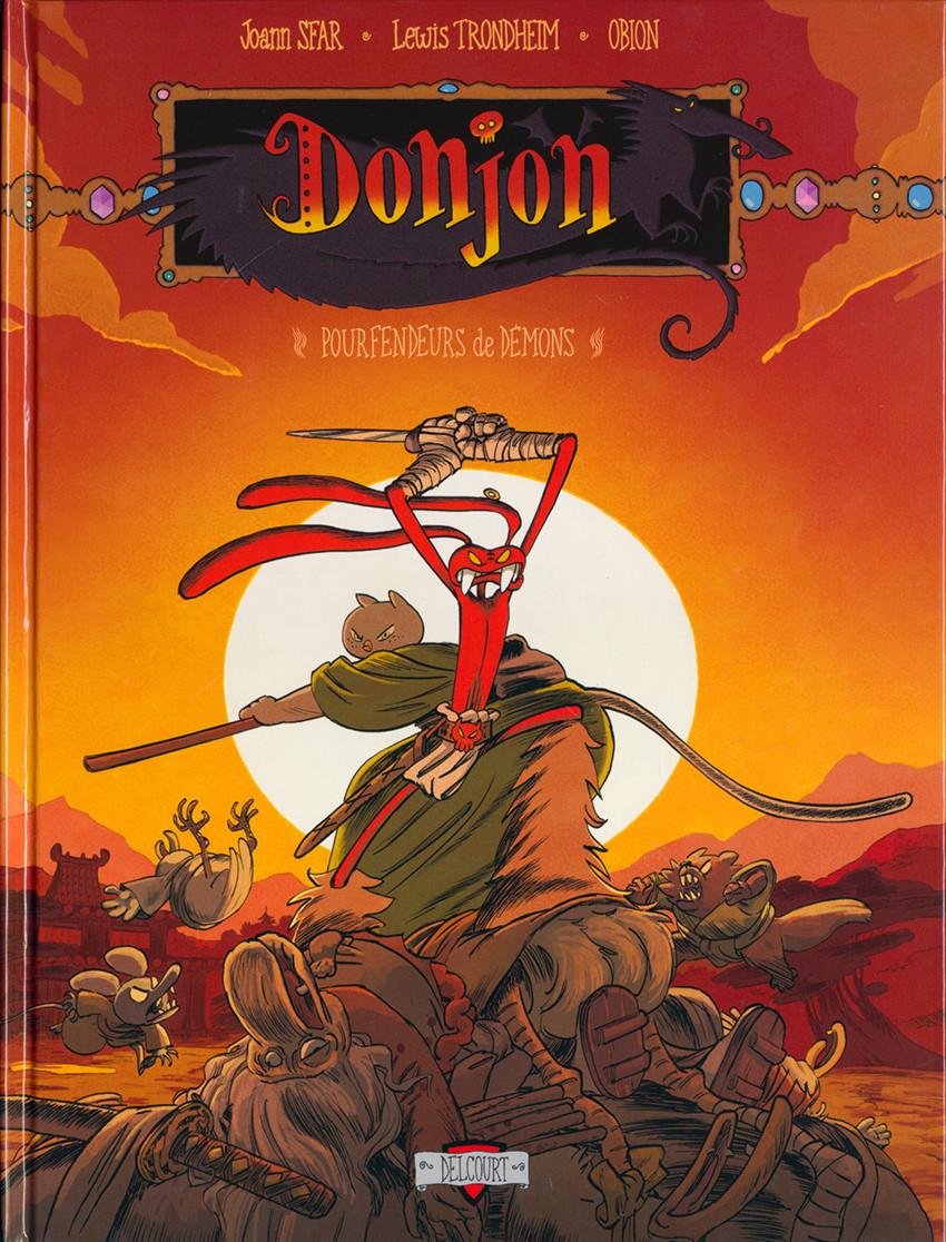 Couverture de Donjon Crépuscule -112- Pourfendeurs de démons