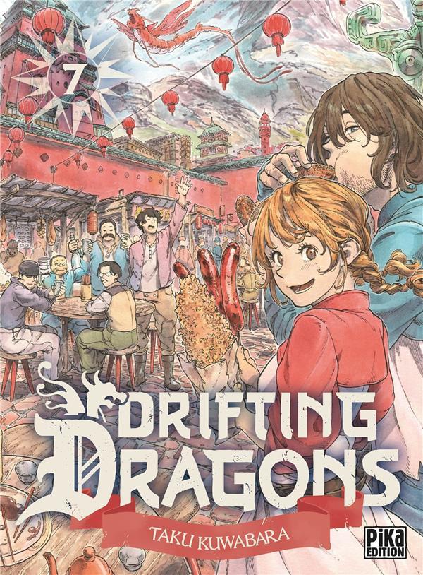 Couverture de Drifting Dragons -7- Tome 7