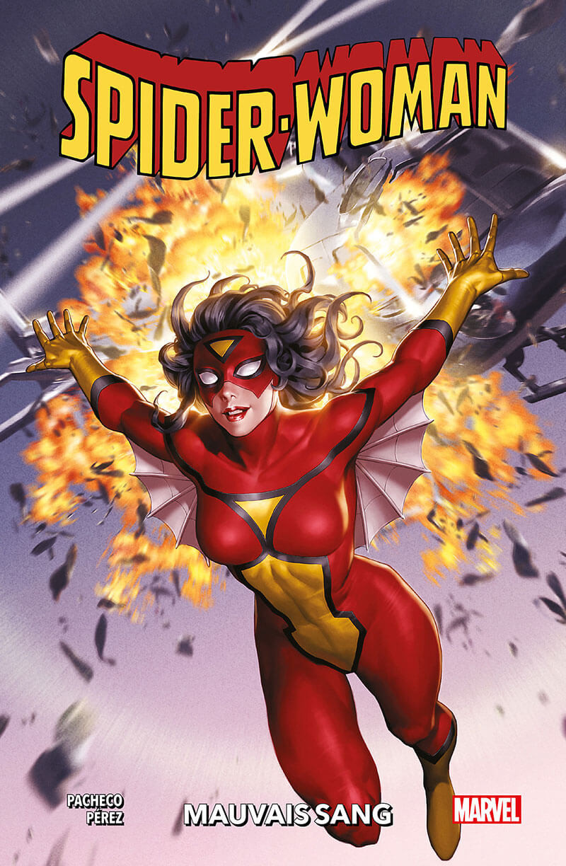 Couverture de Spider-Woman (100% Marvel - 2e Série) -1- Mauvais sang