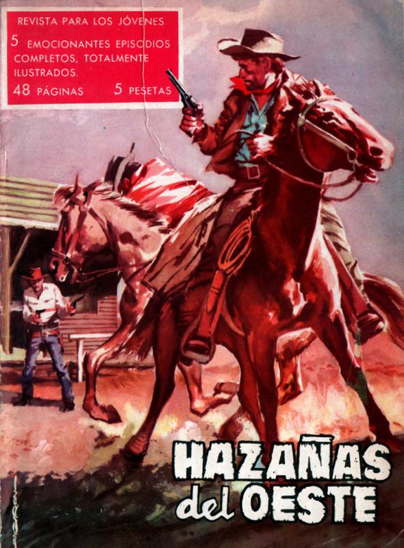 Couverture de Hazañas del Oeste -23- Número 23