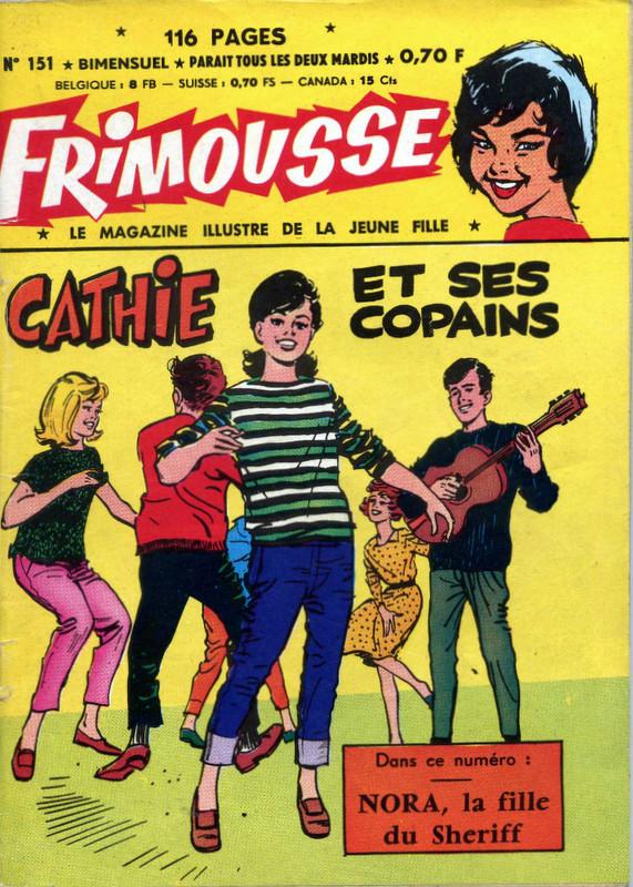 Couverture de Frimousse et Frimousse-Capucine -151- Cathie et ses copains