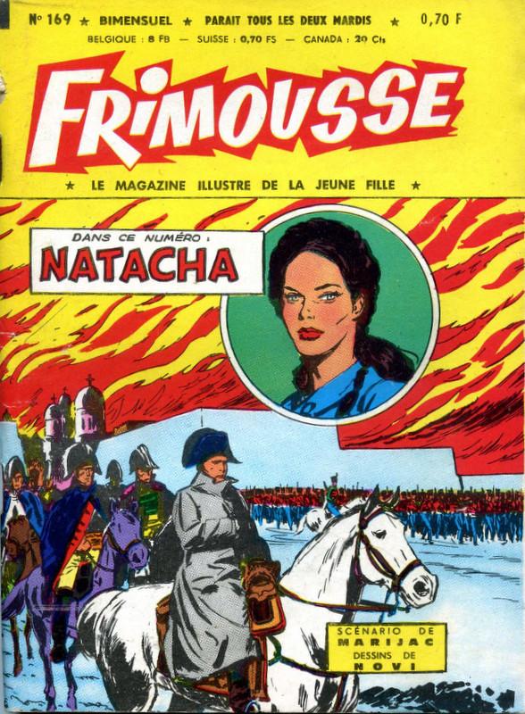 Couverture de Frimousse et Frimousse-Capucine -169- Natacha