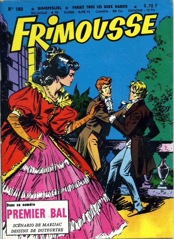 Couverture de Frimousse et Frimousse-Capucine -180- Premier bal